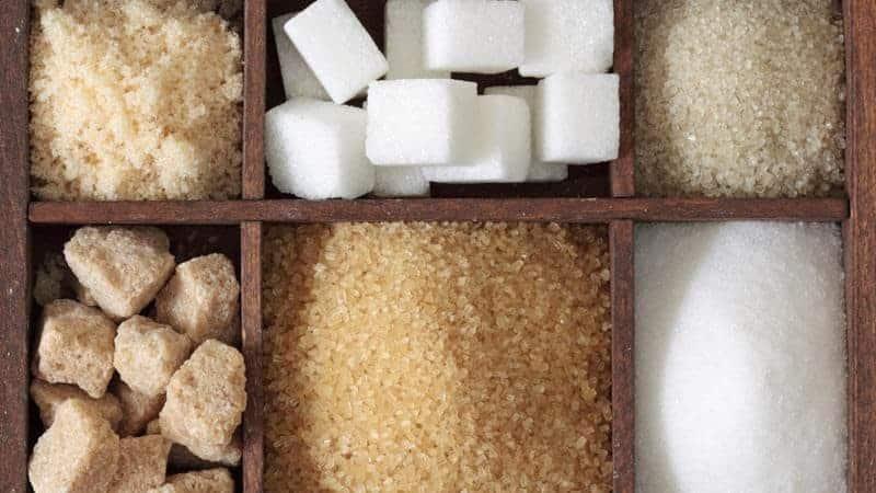 Захар и подсладители