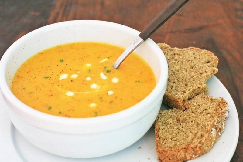 супа с джинджифил