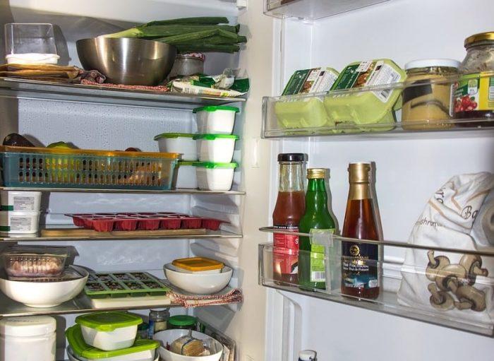 Здравословно зареден хладилник