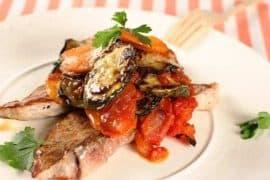 Свинско от Прованс с рататуй