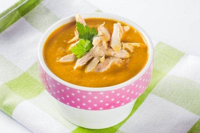 пилешка къри супа
