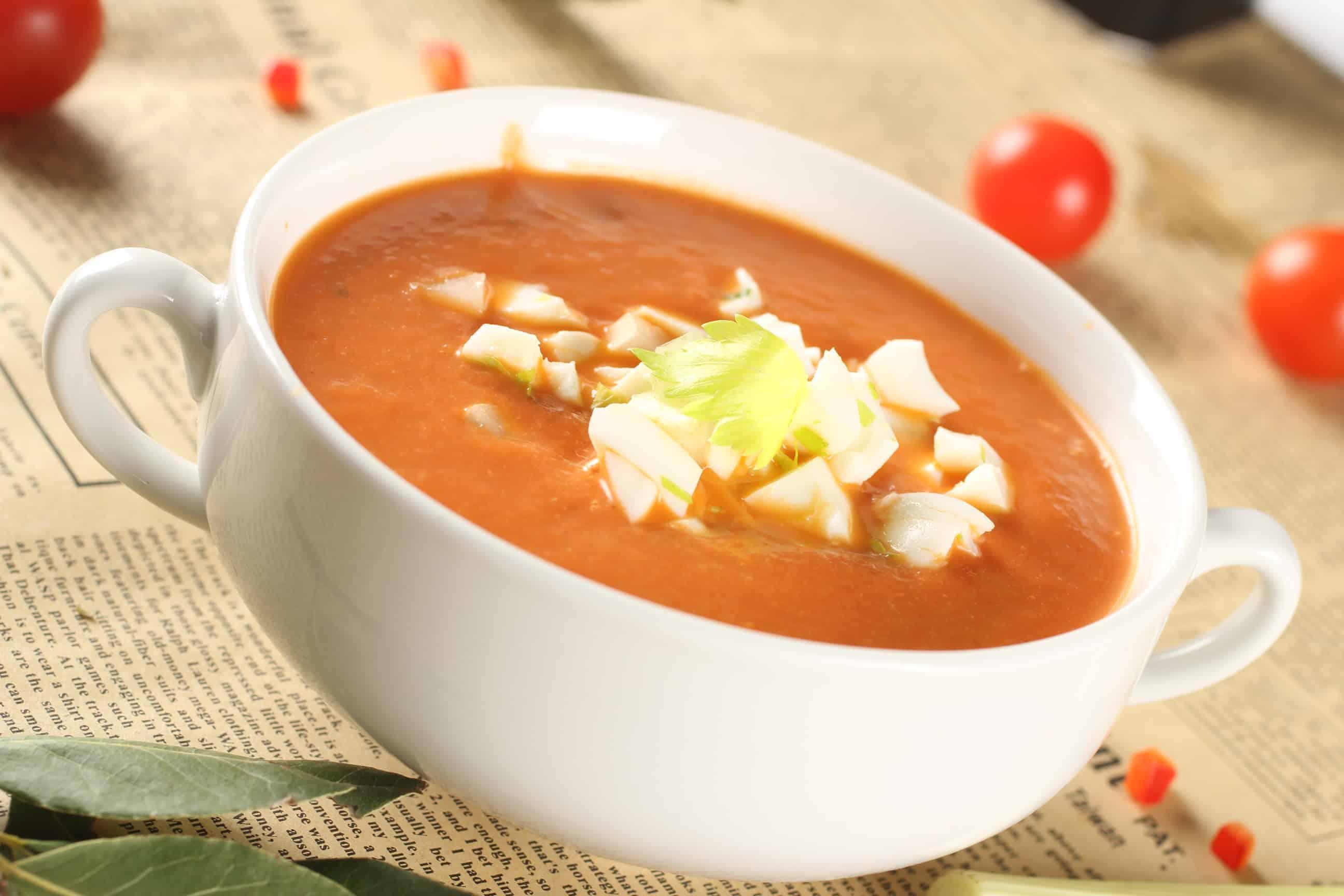 доматена крем супа
